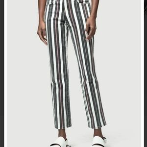 Frame denim sz 26 stripes